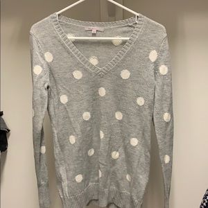 Woman's polka dot sweater from Gap
